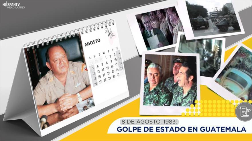 Esta semana en la historia: golpe de Estado en Guatemala