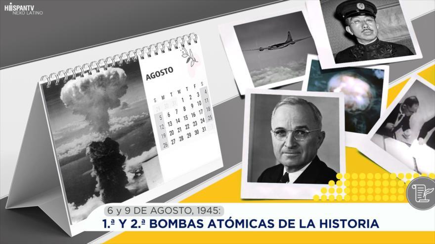 Esta semana en la historia: 1.ª y 2.ª Bombas Atómicas de la Historia