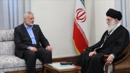 "HAMAS destaca ""firme posición"" de Irán hacia la causa palestina"