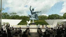 Nagasaki conmemora el 76.º año del bombardeo nuclear de EEUU