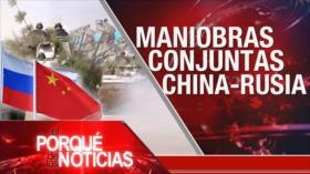 El Porqué de las Noticias: Maniobras militares Rusia-China. Desfile militar en Brasil. Injerencia de la OEA