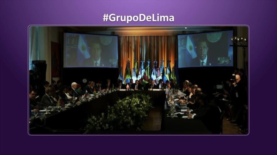 Etiquetaje: ¡Grupo de Lima sin Lima!