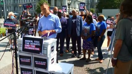 Activistas piden fin del obstruccionismo parlamentario en EEUU