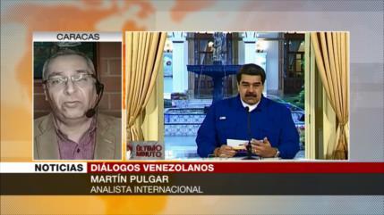 Pulgar: La oposición venezolana no tiene otra opción que negociar