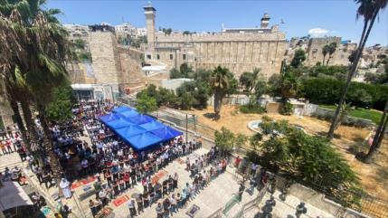 Iniciativa palestina reta plan de judaizar la Mezquita de Ibrahim