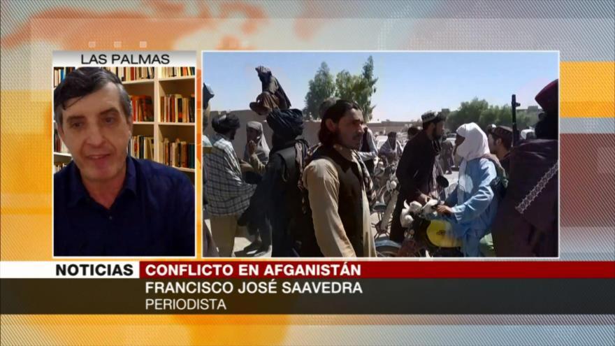 'EEUU huyó de Afganistán y dejó equipos militares para Talibán'