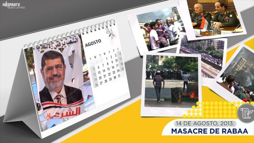 Esta semana en la historia: Masacre de Rabaa