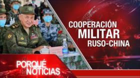 El Porqué de las Noticias: Conflicto en Afganistán. Cooperación militar ruso-china. Diálogos intervenezolanos