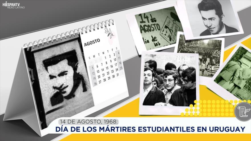 Esta semana en la historia: Día de los mártires estudiantiles en Uruguay