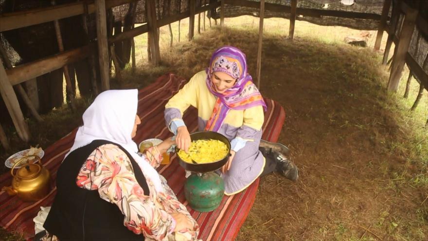 Irán: Las comidas típicas de Subatan