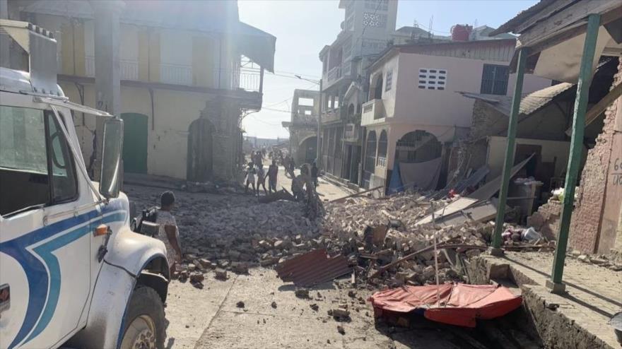 Un terremoto de magnitud 7.2 provoca destrucciones en Haití