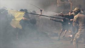 Policía de Ucrania reprime protestas contra el Gobierno en Kiev