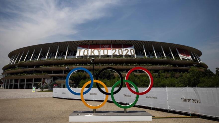 Estadio en el que se desarrollaron las ceremonias de apertura y cierre de los Juegos Olímpicos de Tokio 2020.