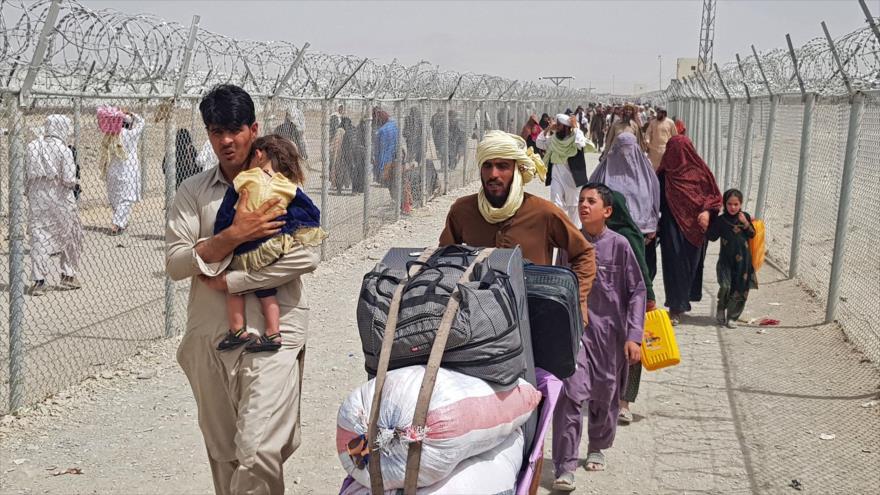 Irán promete apoyar al pueblo afgano y culpa a EEUU por el caos   HISPANTV