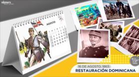 Esta semana en la historia: Restauración Dominicana