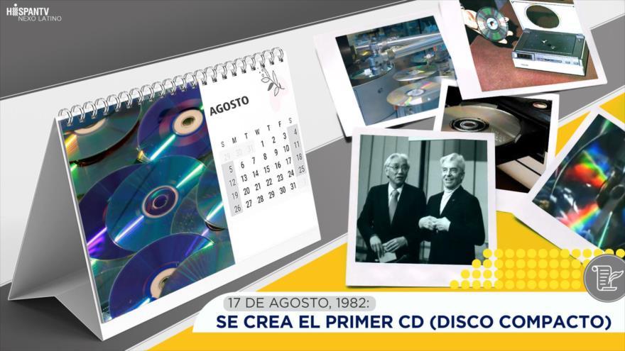 Esta semana en la historia: Se crea el primer CD (Disco Compacto)
