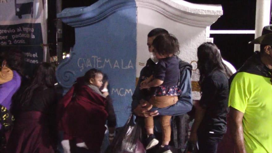 Deportaciones masivas de migrantes a la Frontera Sur de México | HISPANTV