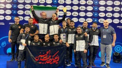 Irán se hace con Campeonato Mundial Juvenil de Lucha Libre