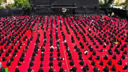 Iraníes conmemoran Ashura, día del martirio del Imam Husein (P)
