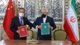 Irán y China insisten en fortalecer lazos bilaterales etratégicos