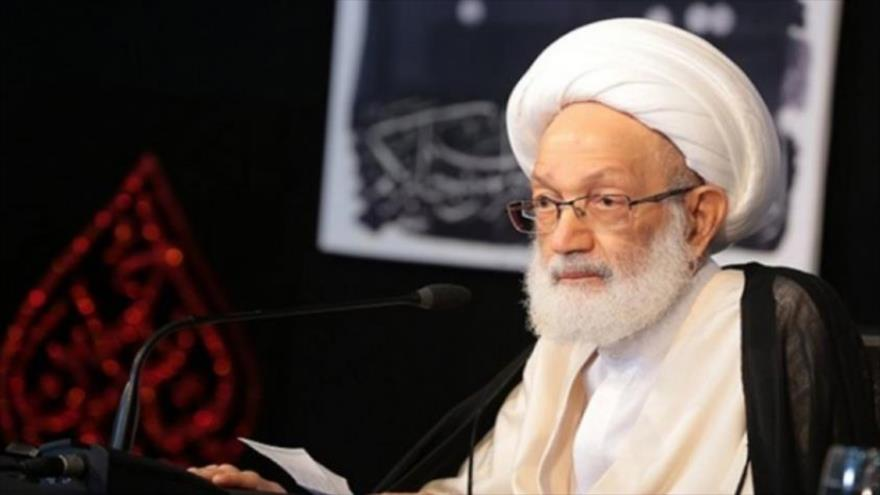 El líder bareiní sheij Isa Ahmad Qasem.
