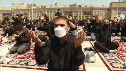 Iraníes conmemoran el Día de Ashura