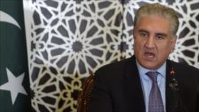 ¿Qué persigue canciller de Paquistán en Afganistán de Taliban?