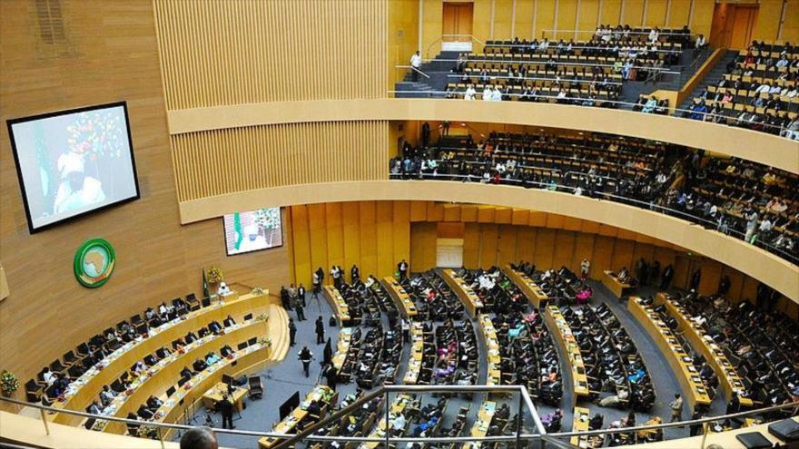 Cumbre del 50.º aniversario de la Unión Africana (UA) en Adís Abeba, la capital de Etiopía, 25 de Mayo 2013.