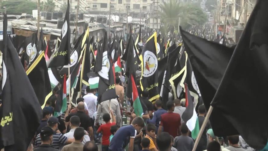 Palestinos conmemoran aniversario de incendio de Mezquita Al-Aqsa