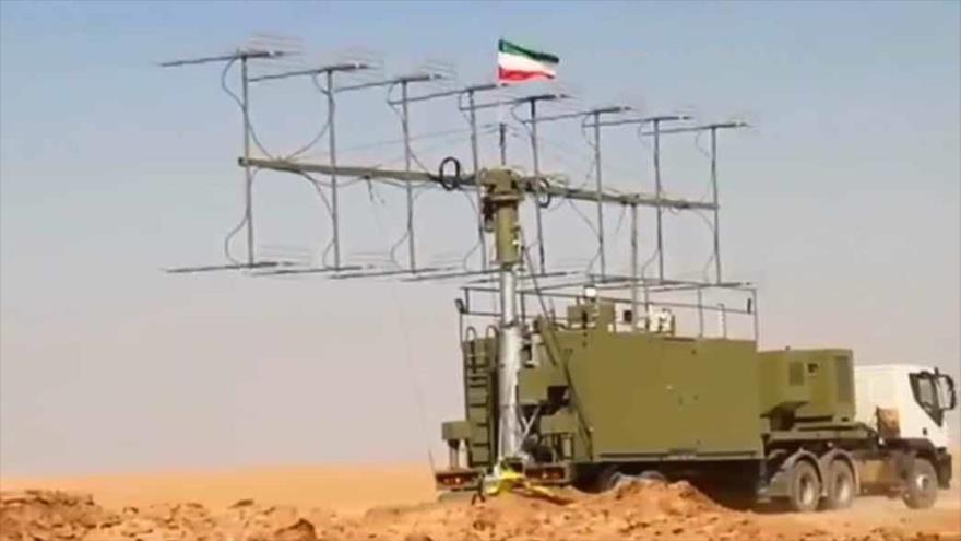El sistema de radar móvil de fabricación iraní Matla al-Fayr.