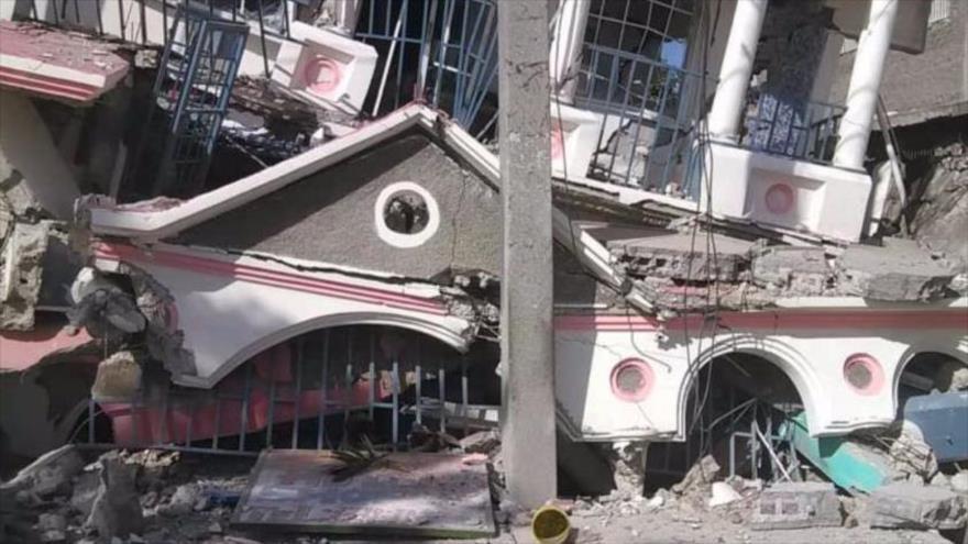 Sube a más de 2200 la cifra de muertos por el terremoto de Haití