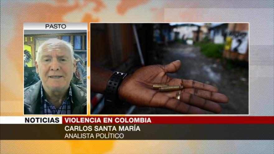 Santa María: La violencia en Colombia es peor que en Afganistán   HISPANTV