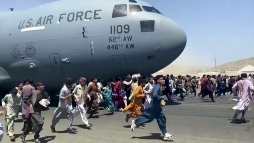 Acusan a EEUU de dejar a Afganistán en caos total   HISPANTV