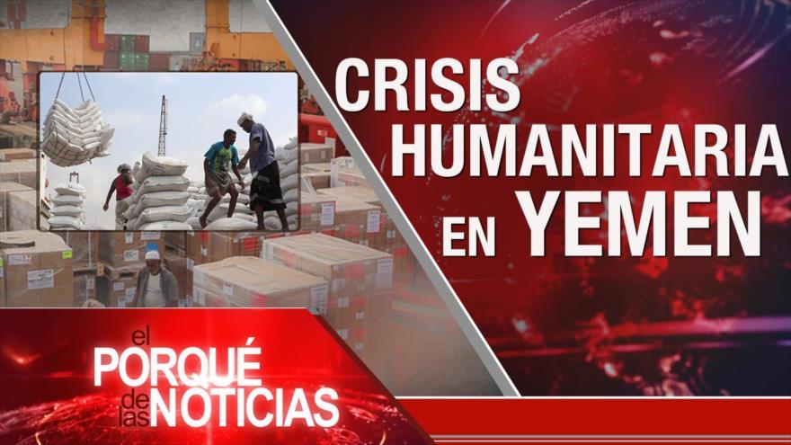 El Porqué de las Noticias: Futuro del acuerdo nuclear. Crisis humanitaria en Yemen. Crisis política en Perú