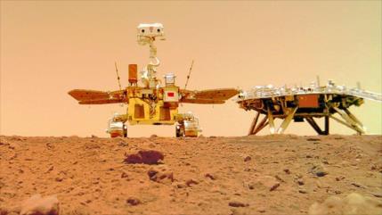 El rover chino Zhurong recorre más de un kilómetro en Marte