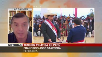 Saavedra: Castillo tiene las cosas muy difíciles con el Parlamento