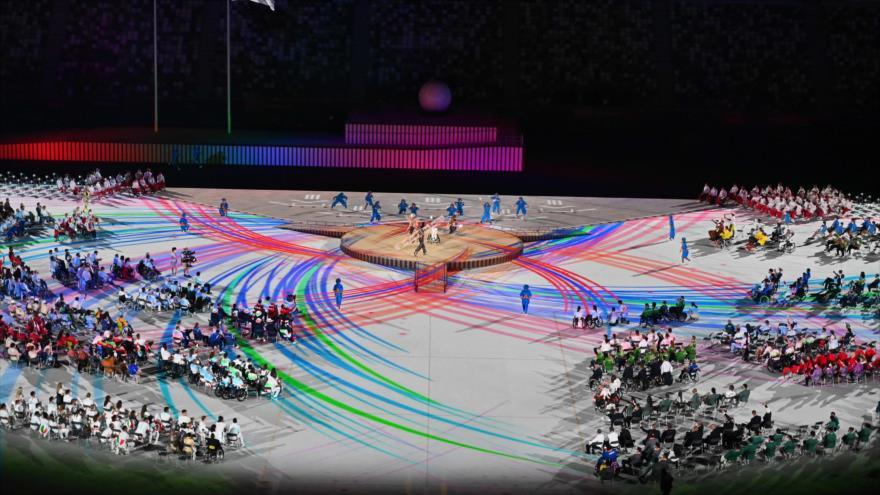 Inauguran los Juegos Paralímpicos de Tokio 2020 en el Estadio Olímpico en la capital nipona, 24 de agosto de 2021. (Foto: AFP)