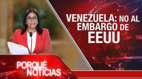 El Porqué de las Noticias: Situación en Afganistán. Venezuela: no al embargo de EEUU. Envío de armas a Bolivia