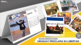 Esta semana en la historia: Uruguay proclama su libertad