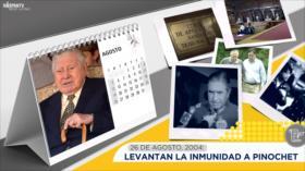 Esta semana en la historia: Levantan la inmunidad de Pinochet
