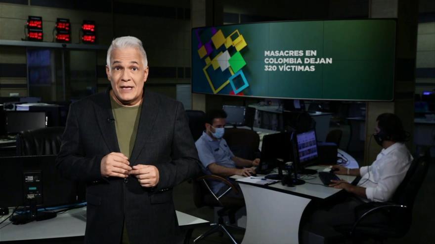 Buen día América Latina: Masacres en Colombia dejan 320 victimas