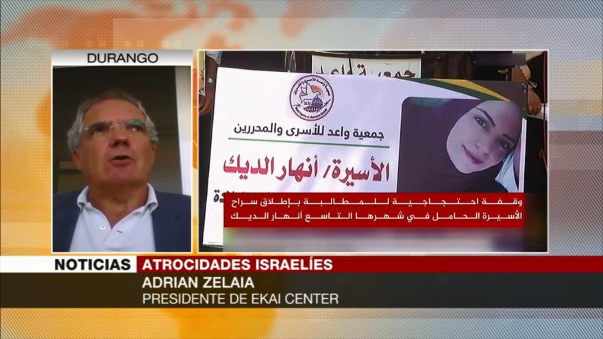 Zelaia: Imagen de Israel, cada vez más débil en DDHH