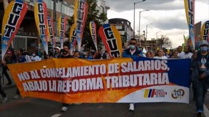 Continúan las protestas contra Iván Duque en Colombia