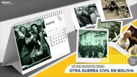 Esta semana en la historia: Otra guerra civil en Bolivia