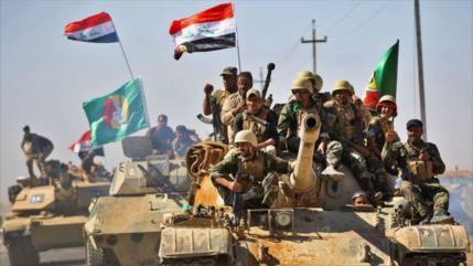 Tropas iraquíes no dejan extenderse a Daesh y arrasan sus zulos