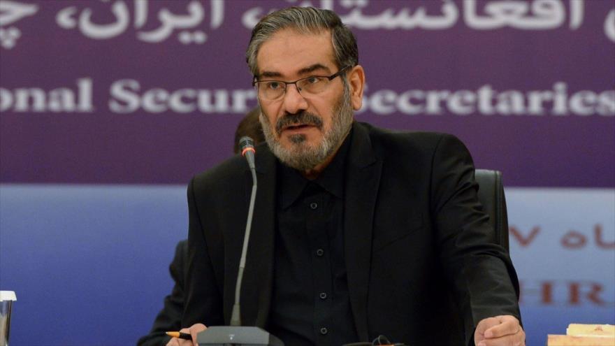El secretario del Consejo Supremo de Seguridad Nacional de Irán, Ali Shamjani.