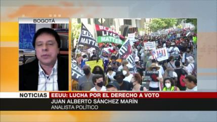 Sánchez Marín: Republicanos temen peso de votos de minorías en EEUU