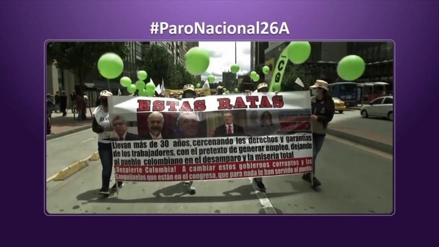 Etiquetaje: Paro nacional en Colombia: No cesan protestas contra Duque