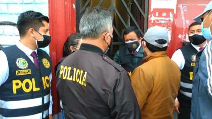 Allanan sedes de partido de Castillo; Perú Libre denuncia acoso