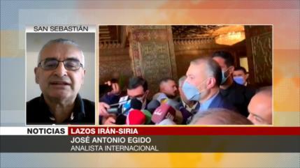 Egido: Apoyo de Irán impidió que EEUU e Israel destruyan Siria